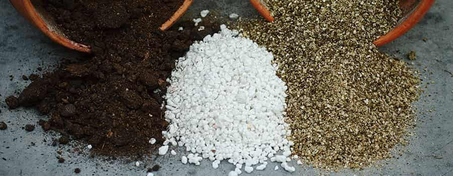 Perlite and Soil