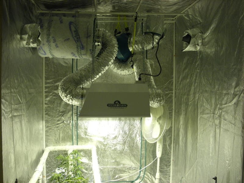 grow tent ventilation system