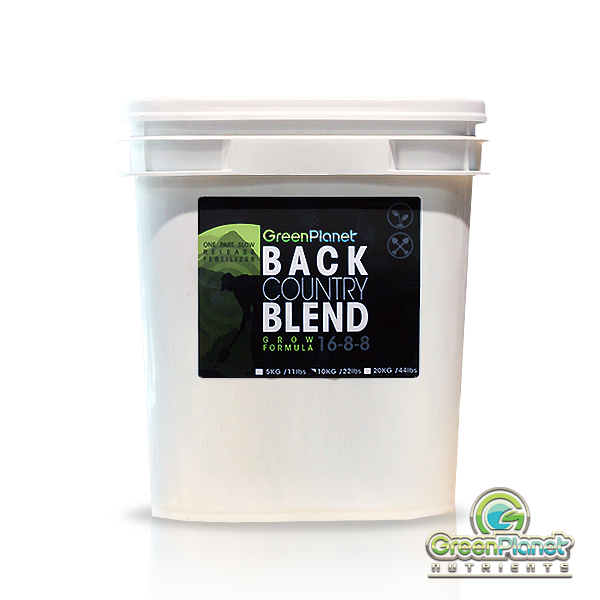 Backcountry Blend Grow Formula by Green Planet Nutrients