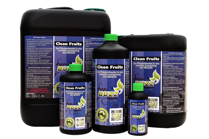 Clean Fruits by Green Buzz Liquids