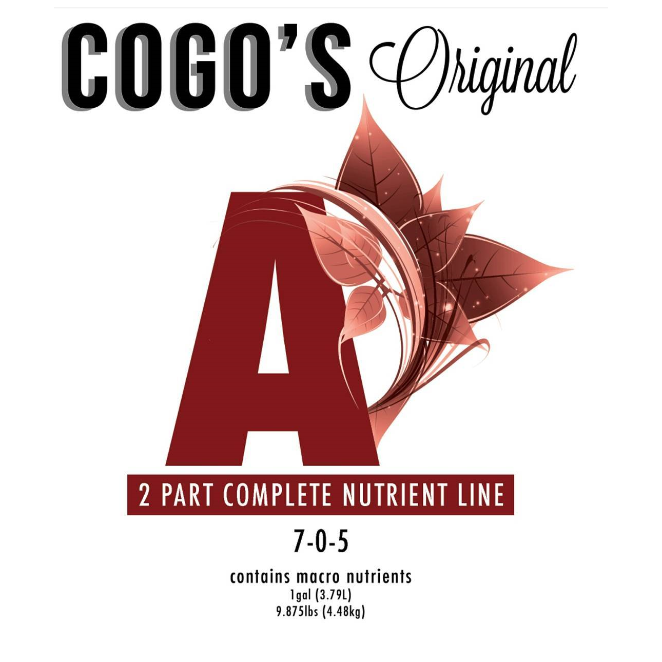 Cogo's Original Cannabis Formula Part A by Cogo's Original Cannabis Formula