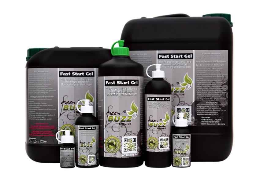 Fast Start Gel by Green Buzz Liquids
