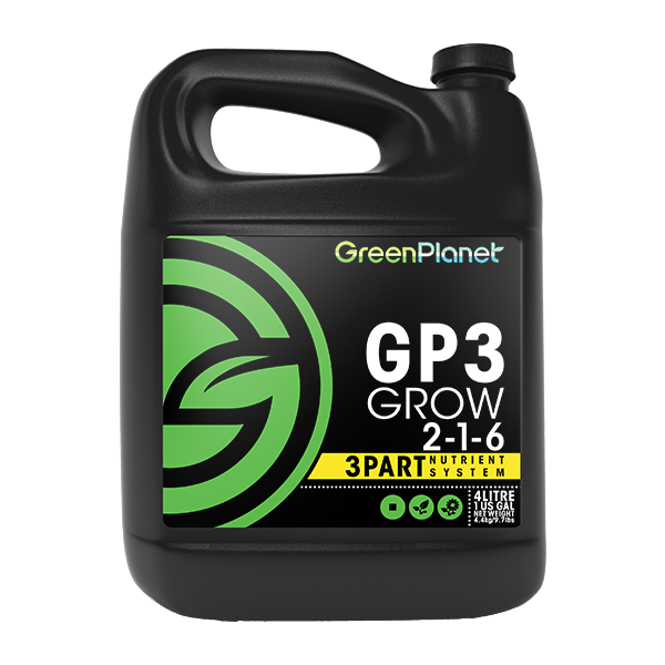 GP3 Grow by Green Planet Nutrients