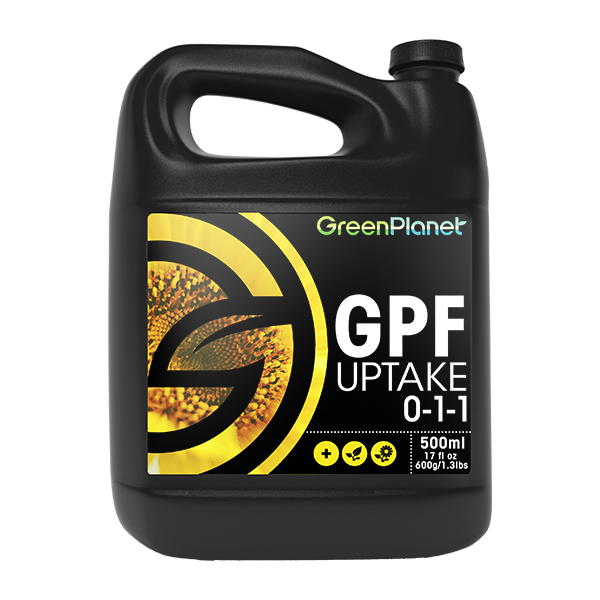GPF Uptake (fulvic acid) by Green Planet Nutrients
